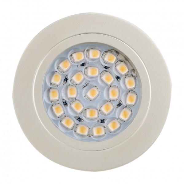 "LED-Einbauleuchte ""DF-1024"", 12V, 1,65W Warmweiss"