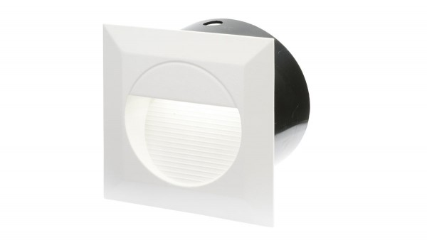 "LED Einbaustrahler 230V, 1,3W, ""DF-6032-2"", weiß"