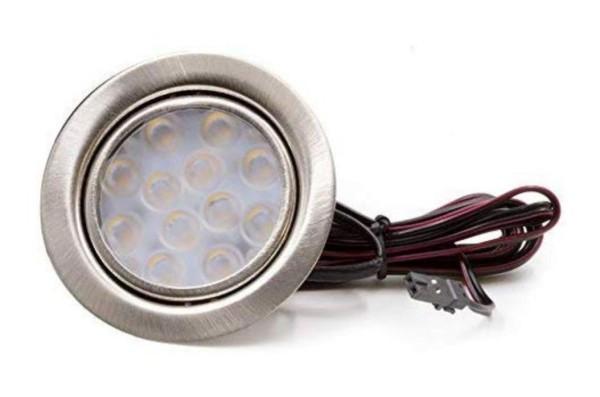 """LED-Einbauleuchte """"DF-1021"""" 3W mit Ministecker"""