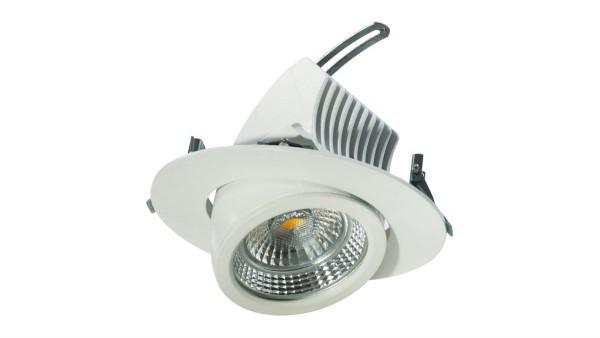 LED Downlight, schwenkbar, 27W, DF-72002-NW